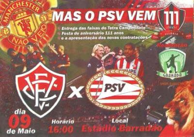 Vitória x PSV