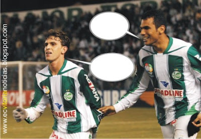 Jogadores do Jeventude conversam após fazer gol em cima do finado