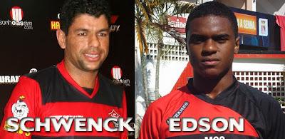 Schwenck e Edson