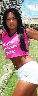 Foto: Juliana Vila Flor - Candidata Musa do Baianão 2009