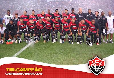 Poster: Vitória Campeão Baiano 2009