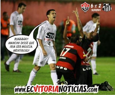 Vitória 6 x 2 Santos - 12/07/09