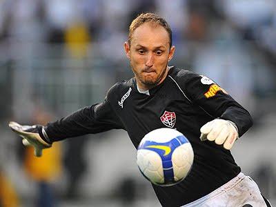 Foto: Gléguer, goleiro do Vitória