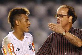 Neymar e Antonio Lopes