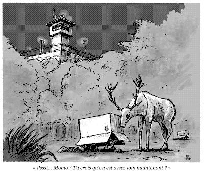 dessin presse évadé yonne