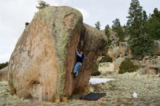 Monte Vista Bouldering Colorado