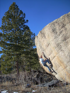 Granite Bouldering in Colorado's Front Range