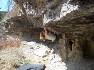 Las Vegas New Mexico bouldering and climbing