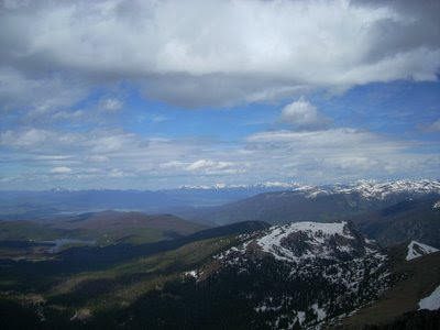 Looking North to the Never Summer Range and the Indian Peaks
