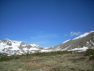 Mount Neva and Arapaho Pass