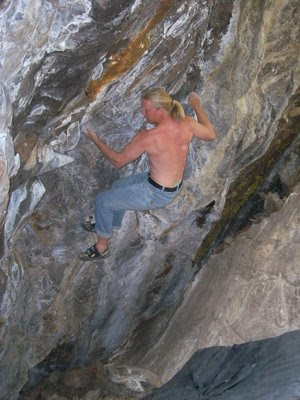 Keystone bouldering in Summit County, Colorado climbing