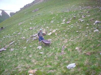 mining wheelbarrow