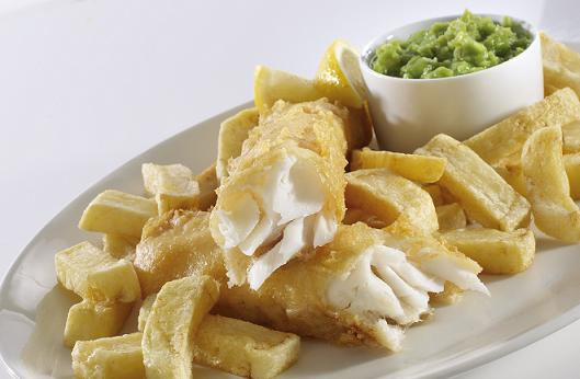 Gluten free fish and chips from a chippy for Gluten free fish and chips