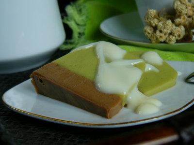 Satu lagi resep puding yang patut untuk dicoba, Puding Susu Melon ...