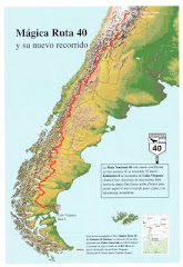 Mapas da Ruta 40