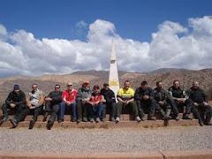Agradecimento aos amigos - Ruta 40 - Argentina - dia 04.09.2009