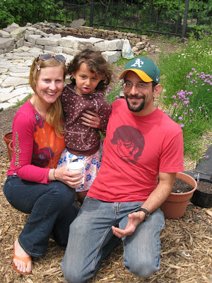 Ginkgo founders Eric, Shona, and daughter