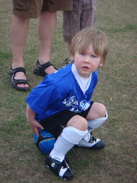 Tav's first soccer game