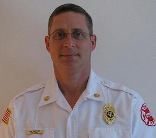 Fire Chief Tim Butler