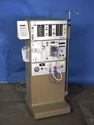 how does a dialysis machine work