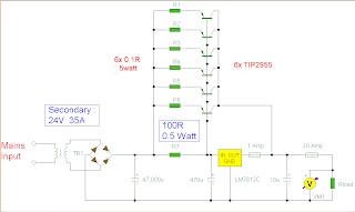 power supply circuit 12 volt 30 amp psu12 Volt 30 Amp Psu Circuit #11
