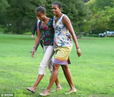white house officials confirm malia obama now seven feet nine inches tall. Black Bedroom Furniture Sets. Home Design Ideas