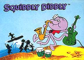 Squiddly Diddly Cartoon