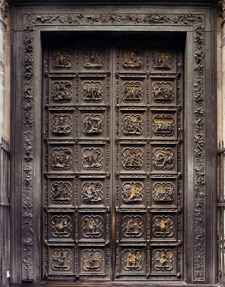 Ghibertiu0027s North Doors & Ghibertiu0027s North Doors | Albertiu0027s Window