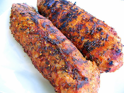 pork tenderloin grilled