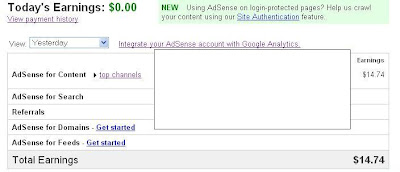 google adsense earning proofs