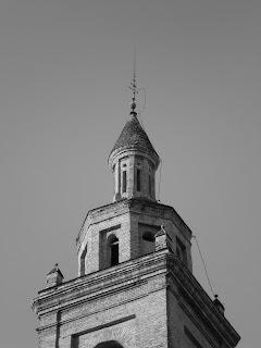 Torre de la Colegiata del Santo Sepulcro de Calatayud. Chapitel. Arquitectura Calatayud siglo XVII