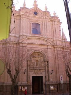 Fachada iglesia de San Juan el Real de Calatayud