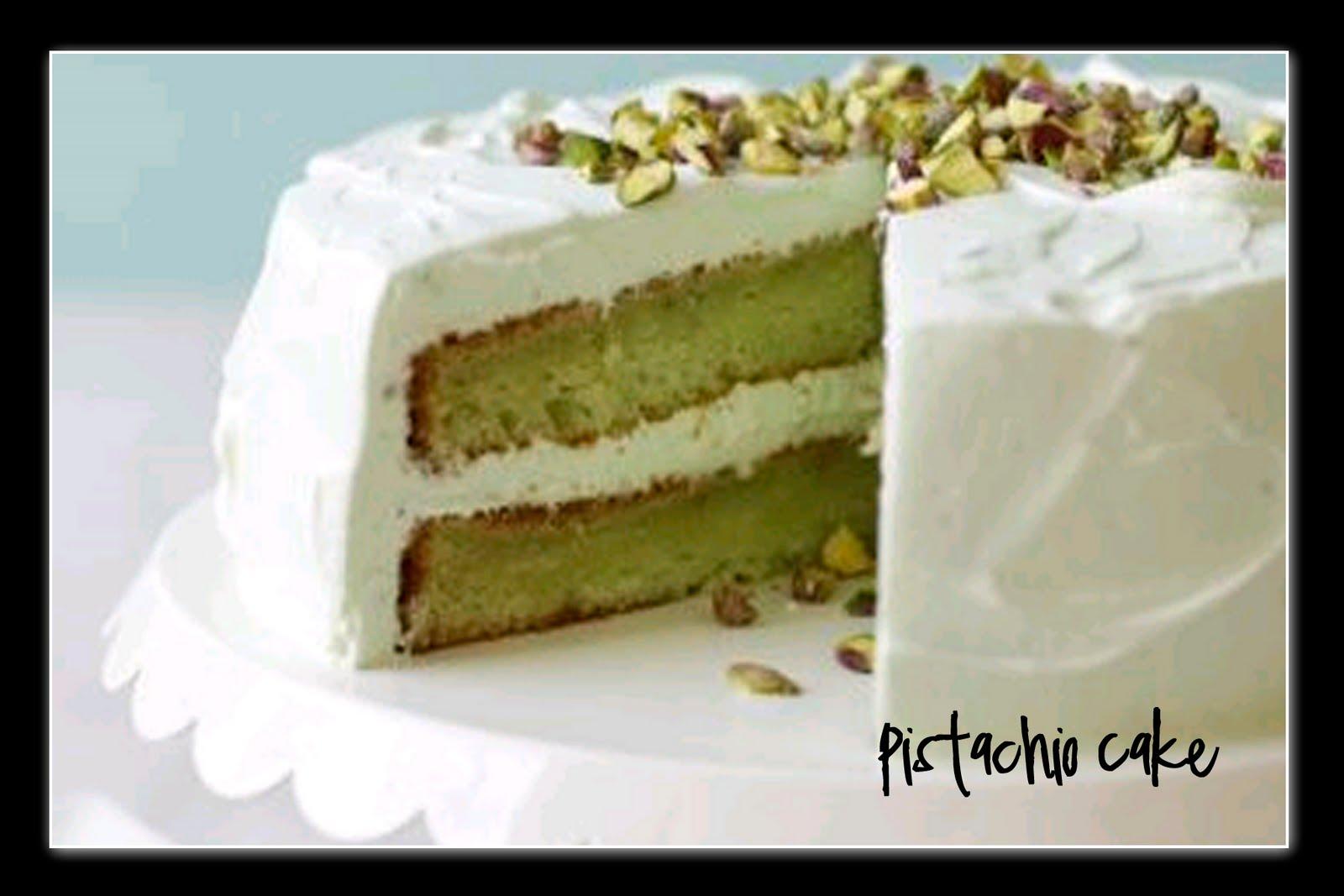 Cake Four Cake Pistachio Cake Iii Recipe Pistachio Cake Pistachio Cake ...