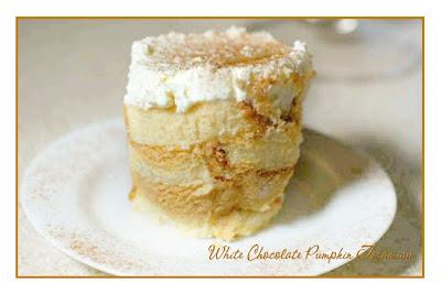 Nan's Recipe Spot: White Chocolate Pumpkin Tiramisu