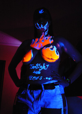 twilight black light