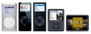 The Evolution of iPods