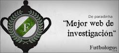 """Premio Futbólogos a la """"Mejor web de investigación"""""""