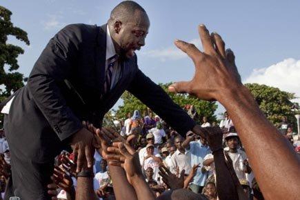 Haiti recto verso manifestation port au prince pour soutenir wyclef jean - Manifestation a port au prince aujourd hui ...