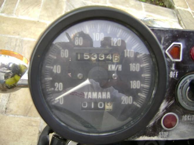 A kilometragem