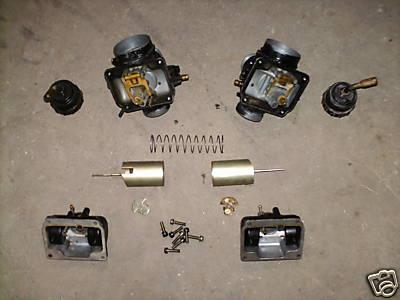 carburadores originais Mikuni VM28SC