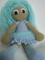 unique handmade crochet doll girl amigurumi gift present kookoo