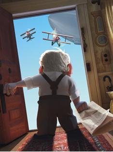 Hacia Arriba, Películas de Disney