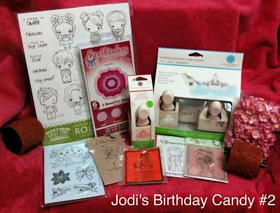 Jodi's Birthday Candy!