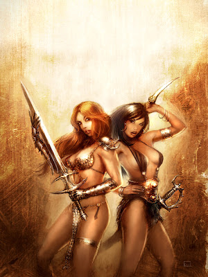 Red Sonja: She Devil with a Sword: Red Sonja vs. Blit