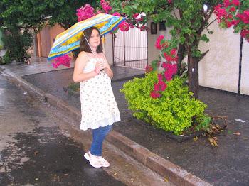 Dia chuvoso de primavera