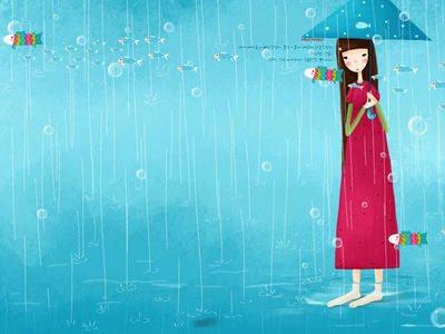 Dưới cơn mưa mùa hạ