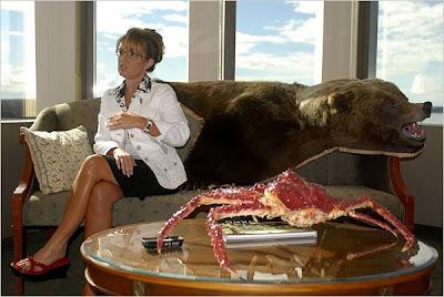 Palin with Crab & Bear