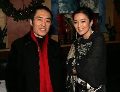 Zhang Yimou e Gong Li