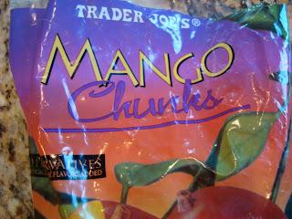 Bag of Mango Chunks