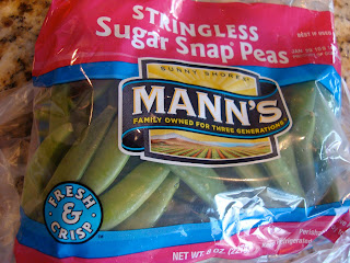 Bag of sugar snap peas